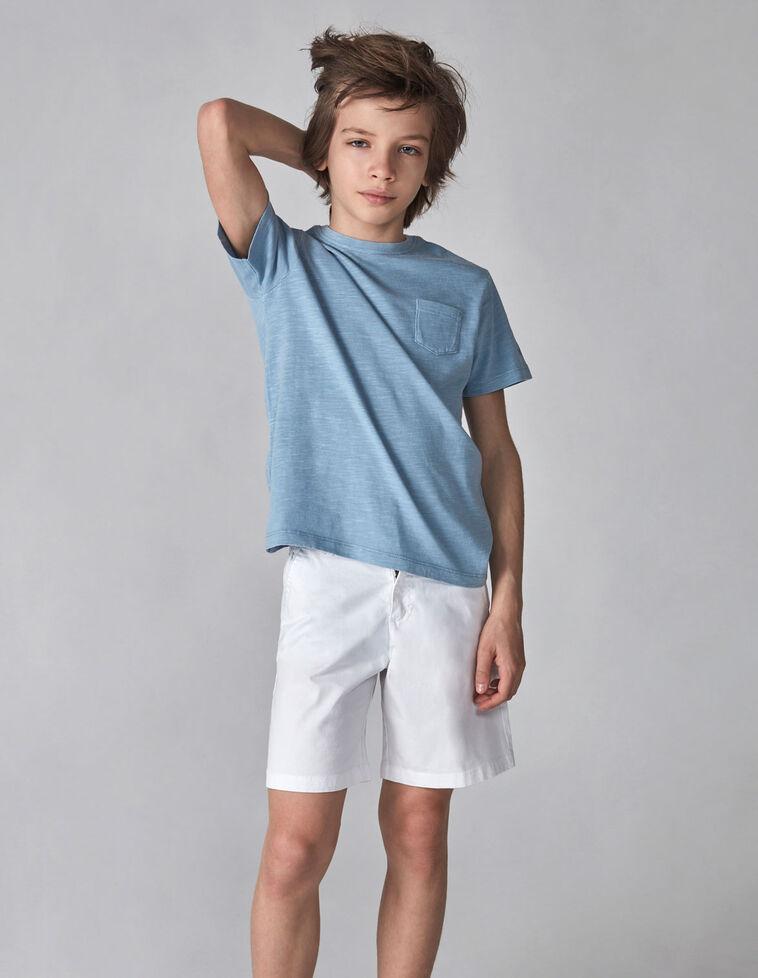 T-shirt bolso azul
