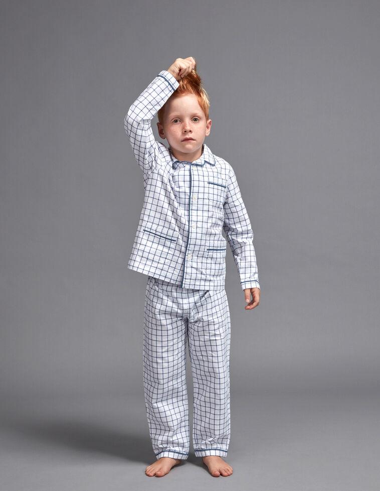 Pijama de xadrez