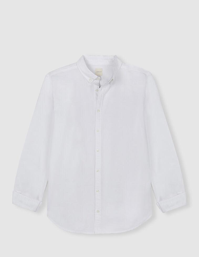 Camisa Oxford branca