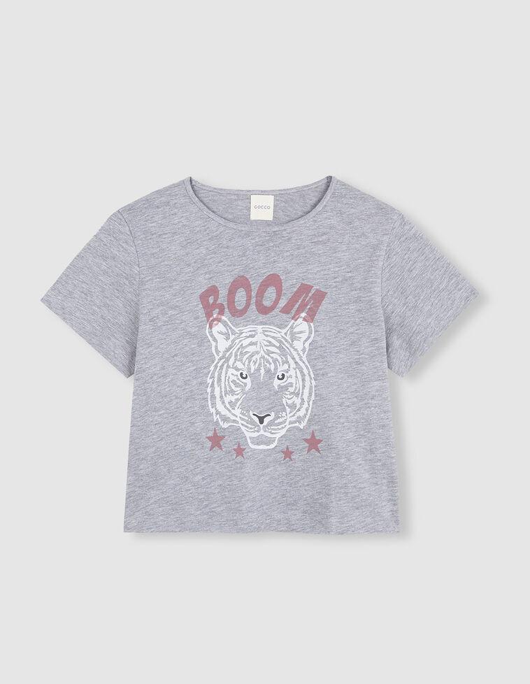 Camisola manga curta Tigre