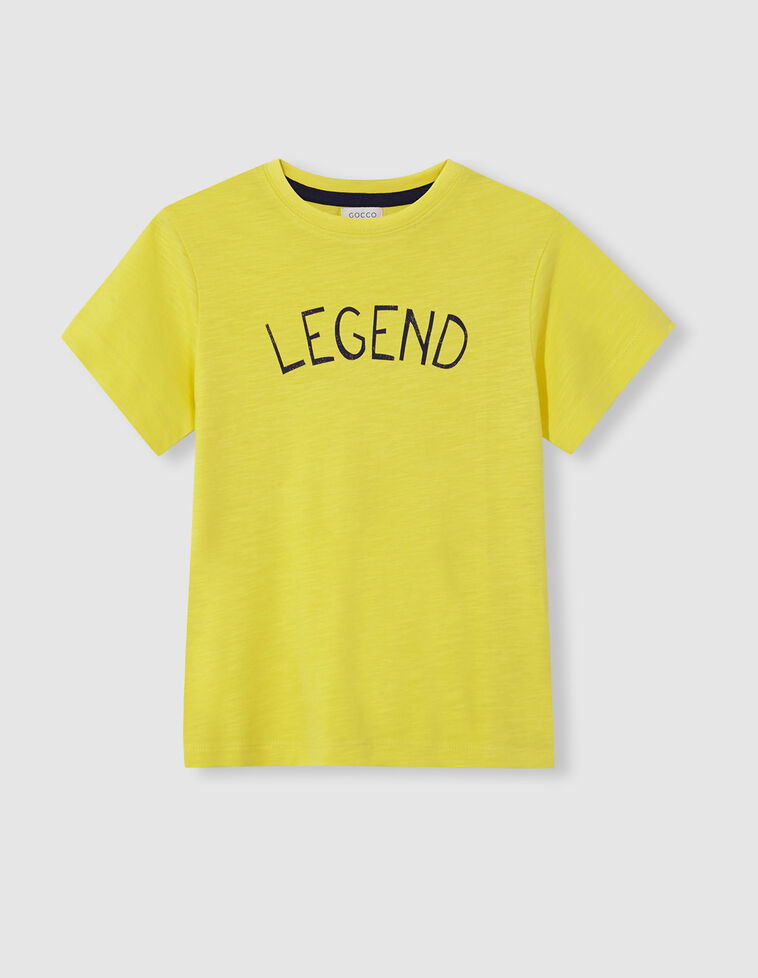 T-shirt legend amarela