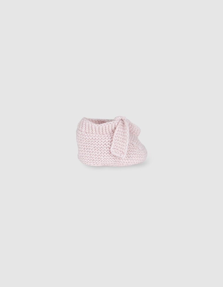 Sapatinhos cor-de-rosa