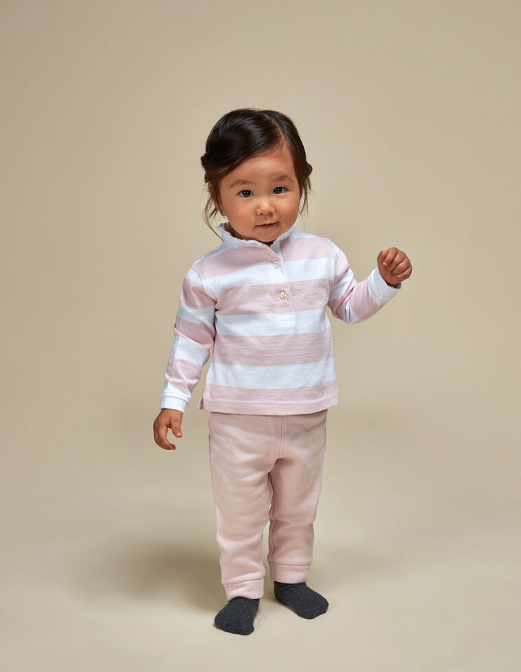 Pantalon rosa deporte