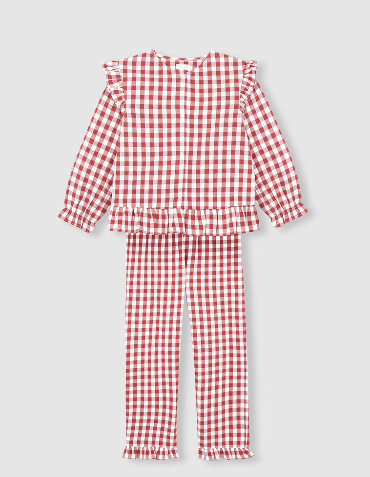 Pijama Xadrez Vichy