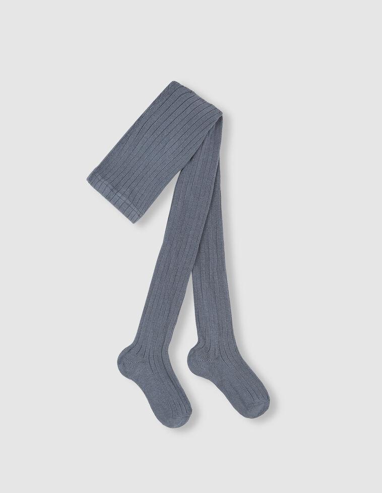 Meia-calça azul