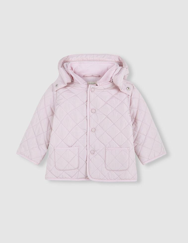 Casaco Husky cor-de-rosa