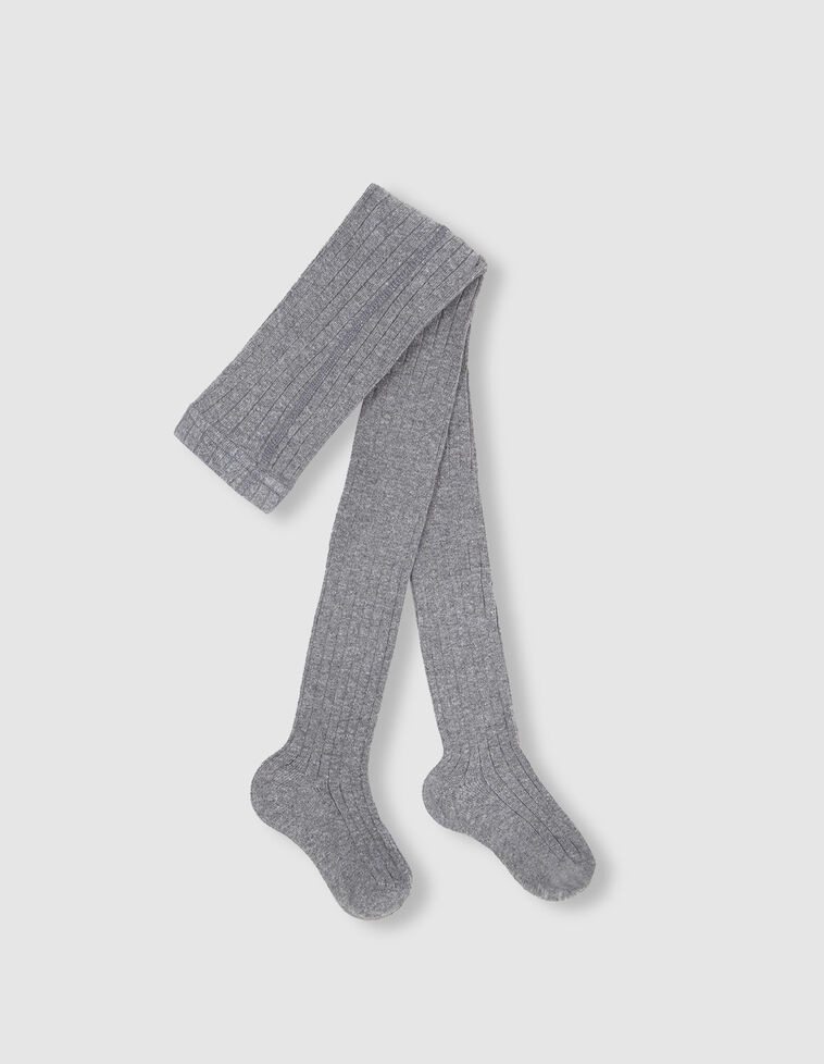 Meia-calça cinzenta