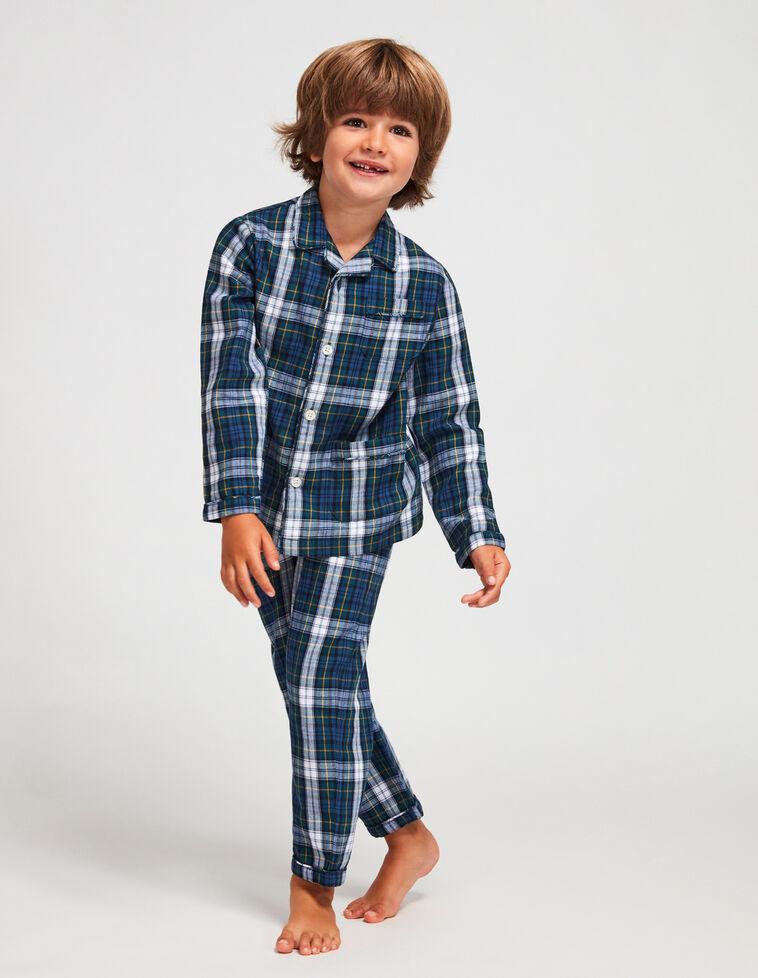 Pijama de xadrez vede