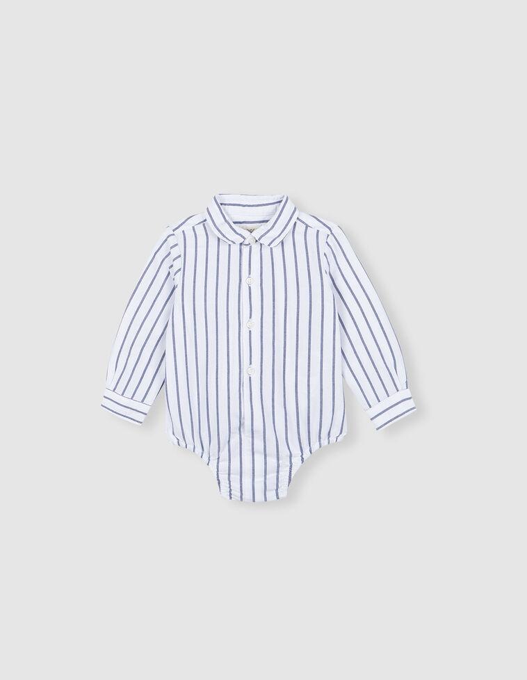 Camisa body rayas