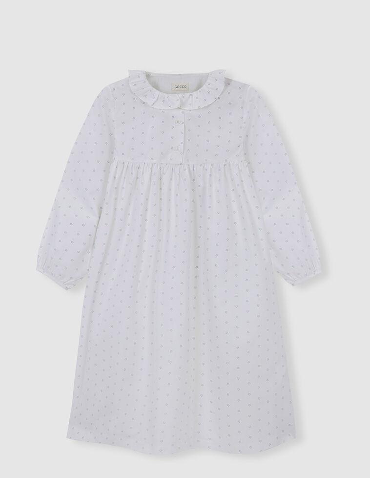 Camisa de Dormir Gola Folho
