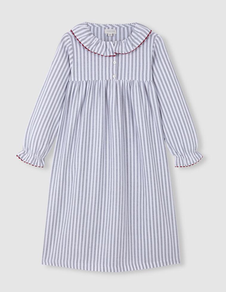 Camisa de Dormir Riscas Picotina