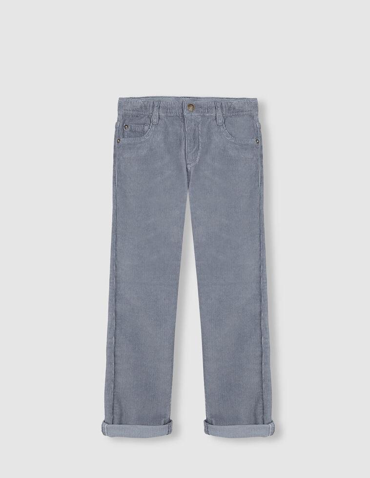 Calças Bombazina azul