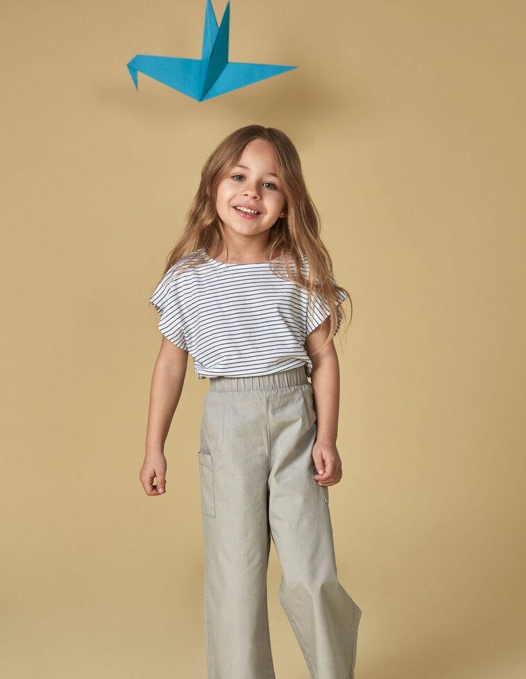 Pantalón bolsillos gris