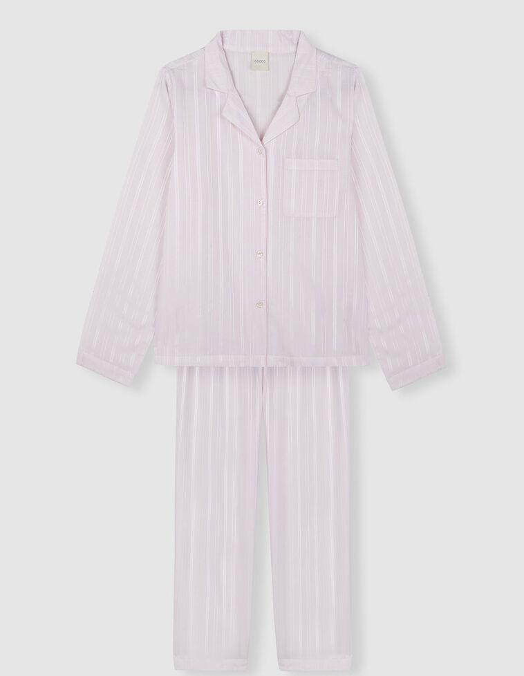 Conjunto Pijama cor-de-rosa