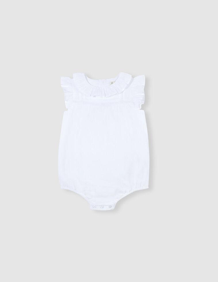 Camisa body plumeti branca