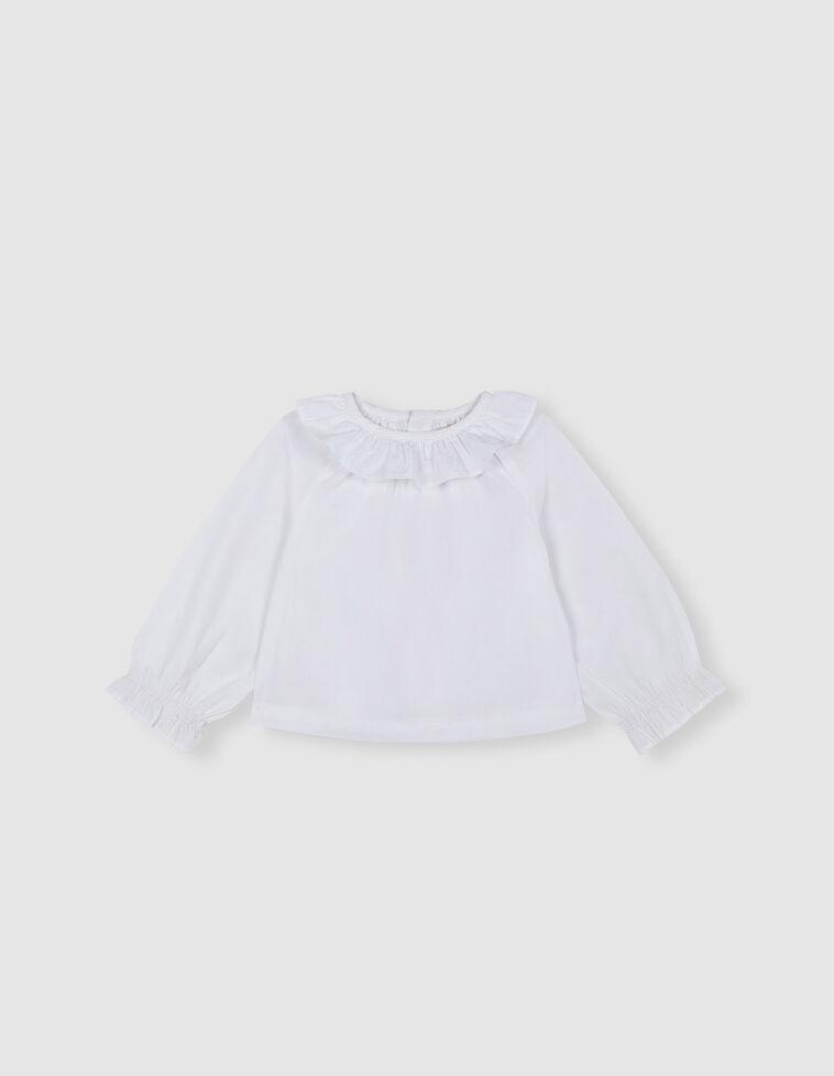 Blusa Branca gola