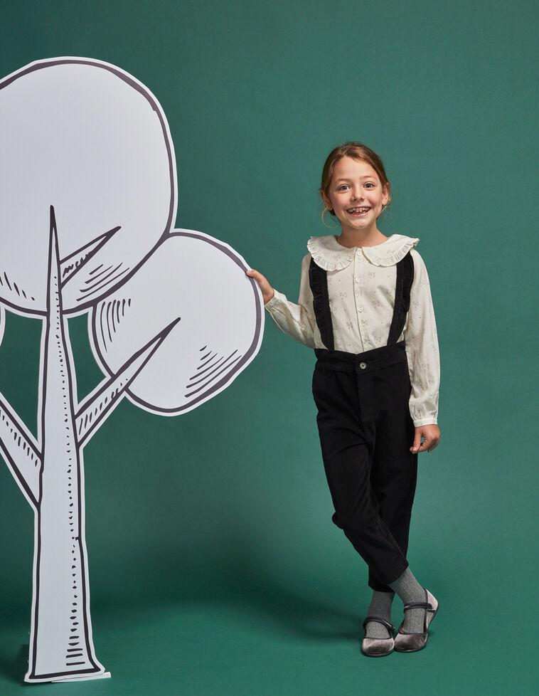 Pantalón de micropana (tirantes incluidos hasta 7-8 años)