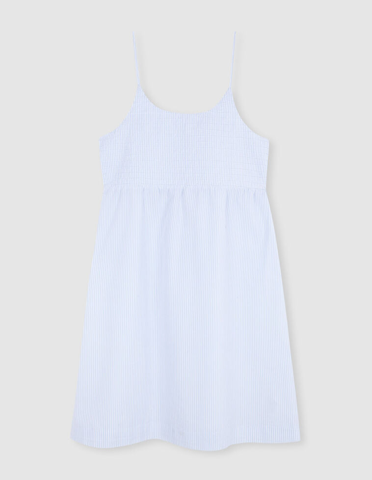 Stripped nightgown