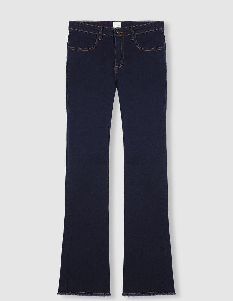 Calças de ganga cintura média