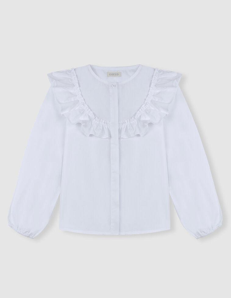 Blusa Branca folho