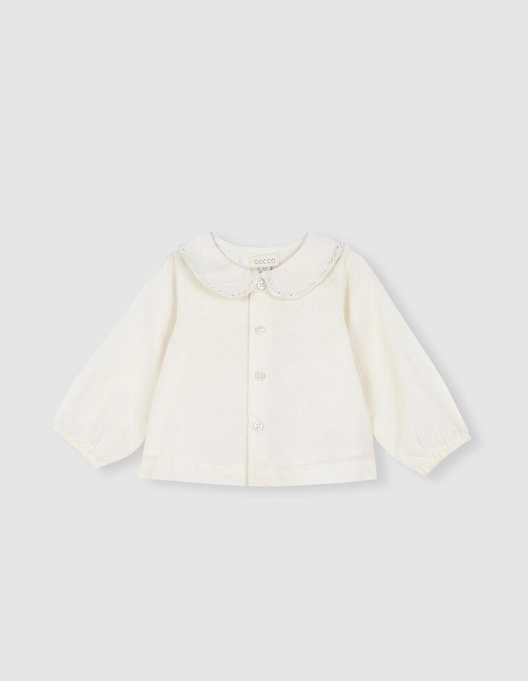 Camisa cuello bebe