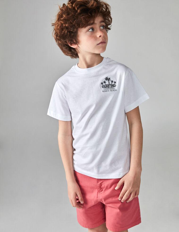 T-shirt surf branca