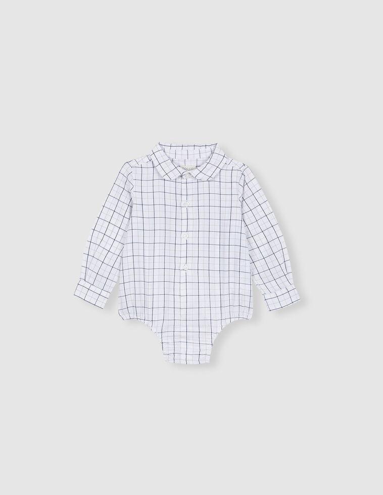 Camisa Body Xadrez