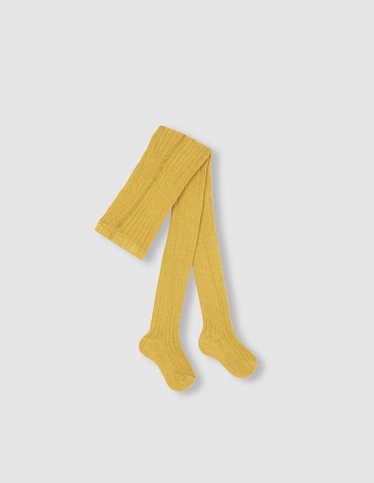 Meia-calça de cor verde-lima