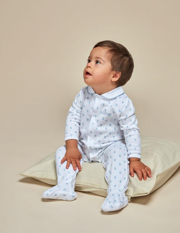 Pijama estampado conejitos